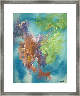 Time Beyond Framed Print by Raymond Doward