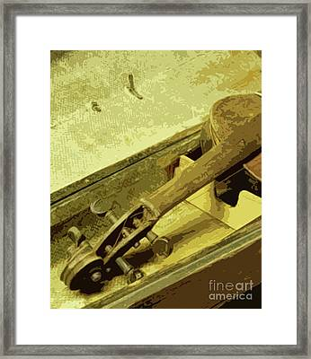 Time Capsule Framed Print by Joe Jake Pratt
