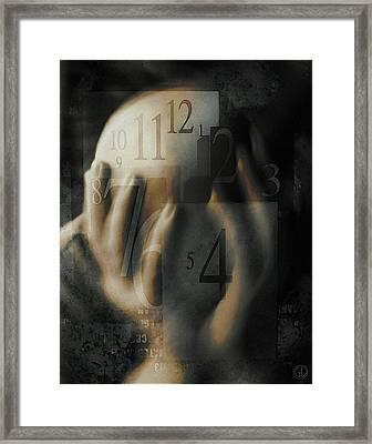 Time Confusion Framed Print by Gun Legler