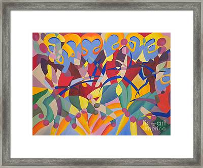 Time Dancer Framed Print