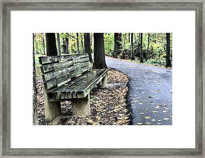 Time For A Rest Framed Print by JC Findley