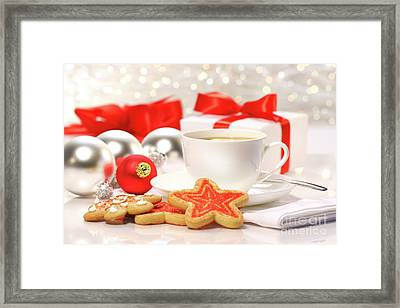 Time For A Tea Break  Framed Print