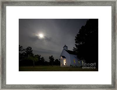 Time For Church Framed Print by Keith Kapple
