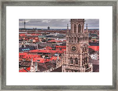 Time For Munich Framed Print by Anthony Citro