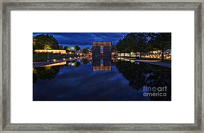 Time For Reflection Framed Print by Gib Martinez