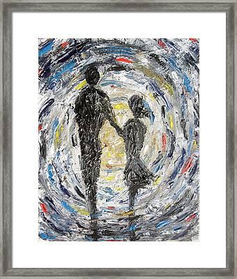 Time Framed Print by Hannah Curran