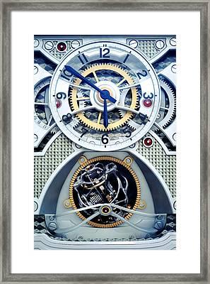 Time Keeper Framed Print by Onder Konuralp