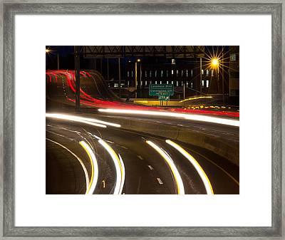 Time Lapse Framed Print