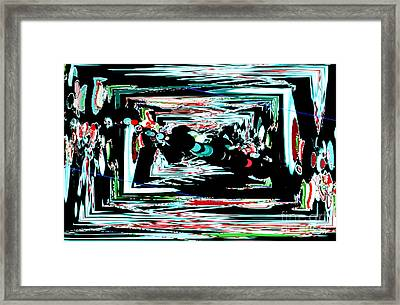 Time Machine 1 Framed Print by Tashia Peterman