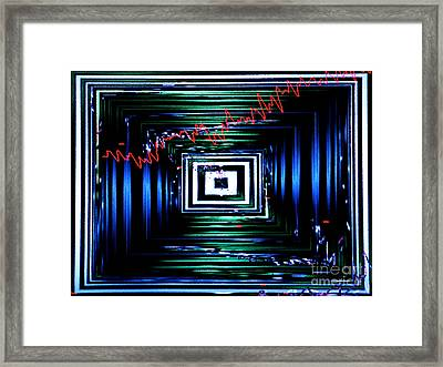 Time Machine 3 Framed Print by Tashia Peterman