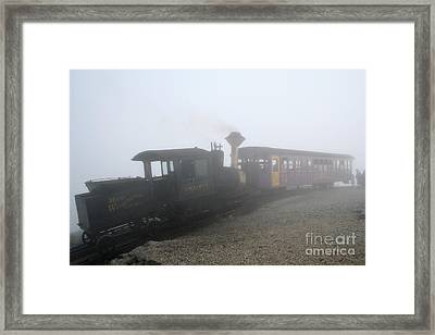 Time Machine Framed Print by Adrian LaRoque