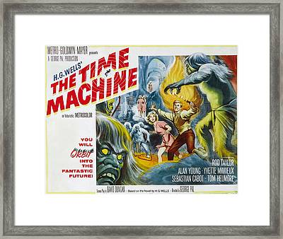 Time Machine, The, Yvette Mimieux, Rod Framed Print