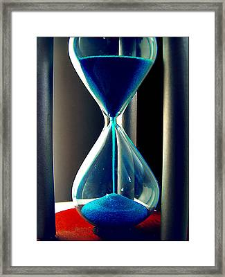 Time Makes Magic Framed Print by Guadalupe Nicole Barrionuevo