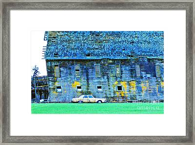 Time Marches On... Framed Print by Margaret Hood
