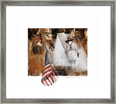 Time Passages - Encampment -1812 Framed Print by Bob Salo