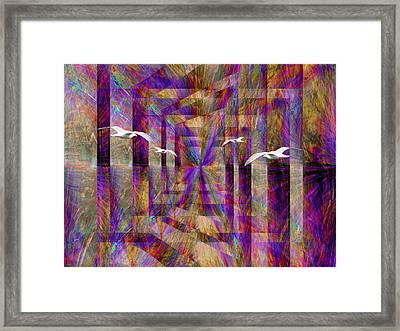 Time Passages Framed Print by Tim Allen