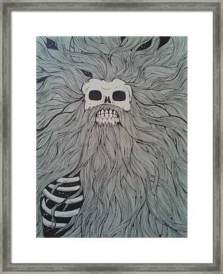 Time Framed Print by Ronald Mcduff