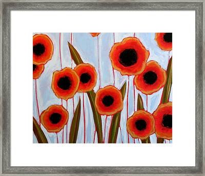 Time To Bloom Framed Print by Amy Giacomelli