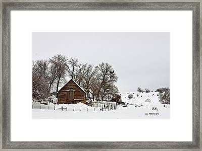 Time To Do The Chores Framed Print by Edward Peterson