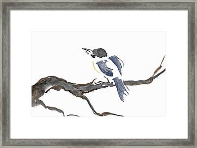 Time To Fly South Framed Print by Ellen Miffitt