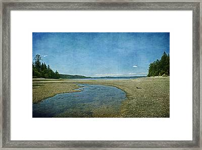 Time To Rest Framed Print by Terrie Taylor