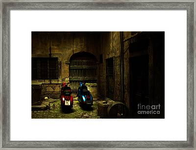 Time Travellers Framed Print by Andrew Paranavitana