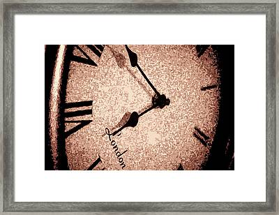 Time Waits For Her Framed Print by Dax Ian