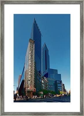 Time Warner Center Framed Print