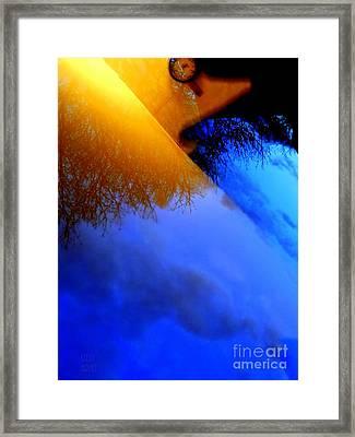 Time Wave Framed Print