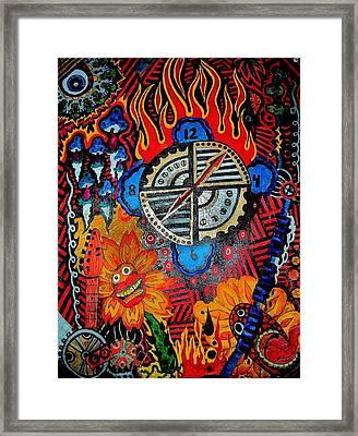 Time Will Tell Framed Print by Ragdoll Washburn