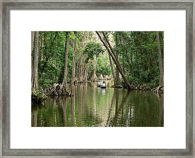 Timeless Passage Framed Print by Peg Urban
