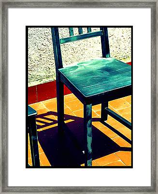 Timeout Framed Print by Guadalupe Nicole Barrionuevo