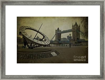 Timepiece. Framed Print by Clare Bambers