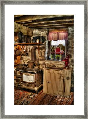 Times Gone By Framed Print by Susan Candelario