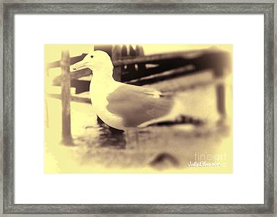 Times Past  Framed Print by John Clawson