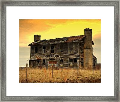 Framed Print featuring the photograph Times Past by Marty Koch