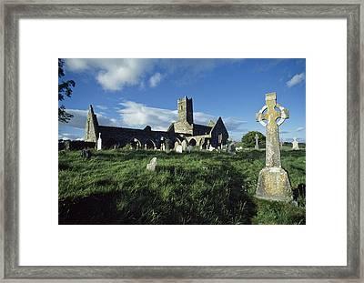 Timoleague Abbey, Co Cork, Ireland 13th Framed Print