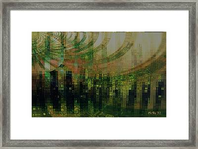 Tin City Framed Print by Kathy Sheeran
