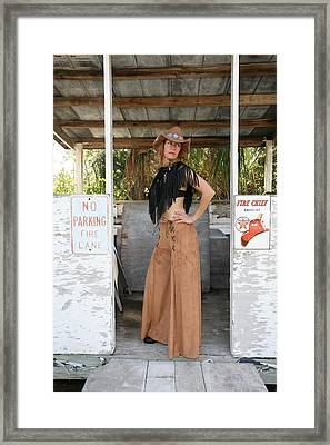 Tina Loy 603 Framed Print by Lucky Cole