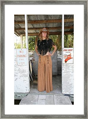 Tina Loy 607 Framed Print by Lucky Cole