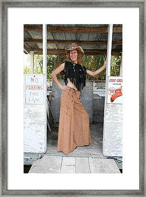 Tina Loy 674 Framed Print by Lucky Cole