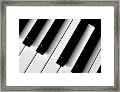 Tinkling The Ivories Framed Print by Bill Cannon
