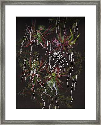 Tinsel War Framed Print