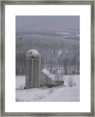Tinted Winter Framed Print by Natalie LaRocque