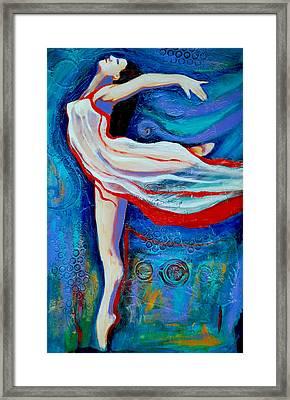 Tiny Dancer Framed Print by Claudia Fuenzalida Johns