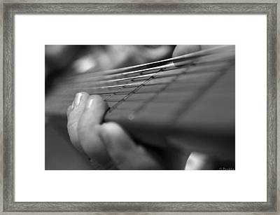 Tiny Hands  Framed Print by Susan Bordelon