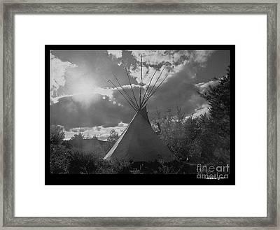 Tipihome Framed Print