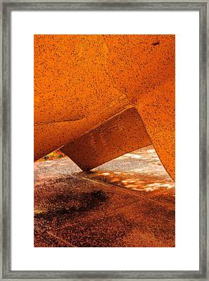 Tipping Point Framed Print by Marcia Lee Jones