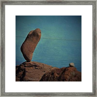 Tipping Point Framed Print