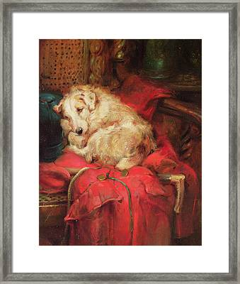 Tired Out Framed Print by Philip Eustace Stretton